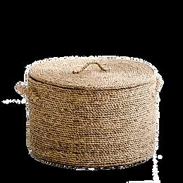11.Panier rond jacinthe d'eau H36,5 cm,