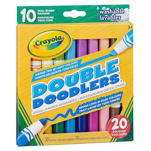 10 marqueurs deux-tons Crayola