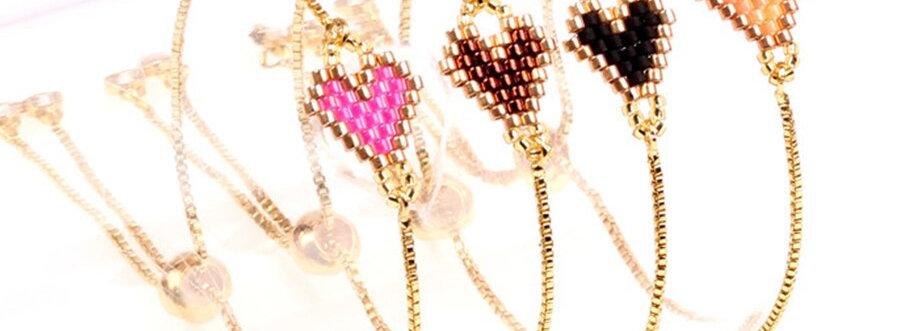 Bracelet coeur style Miyuki