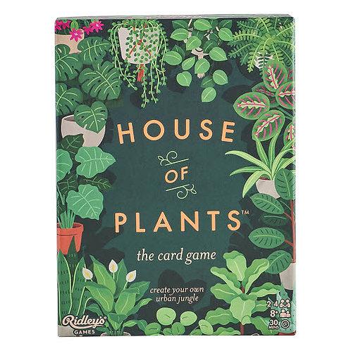 Jeu de cartes - La maison des plantes
