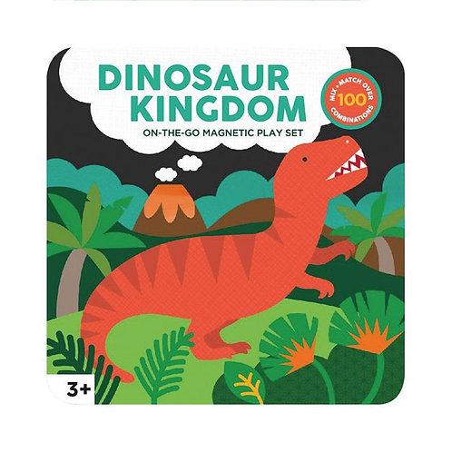 Jeu magnétique «Le Royaume des Dinosaures»