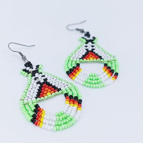 Boucles d'oreilles Aztec