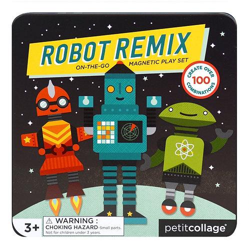 Jeu magnétique «Robot remix»