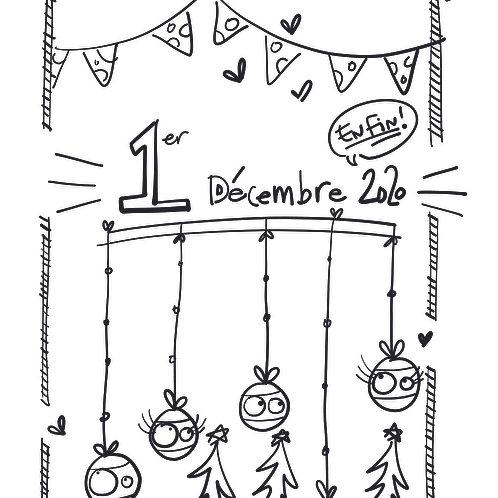 1er décembre 2020 en«fin» arrivé!