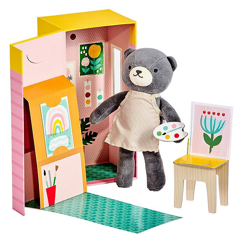Béatrice l'ourson et son studio