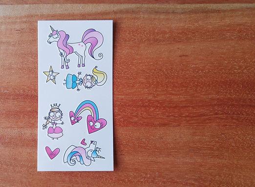 Tatouages_temporaire_Princesses-licornes