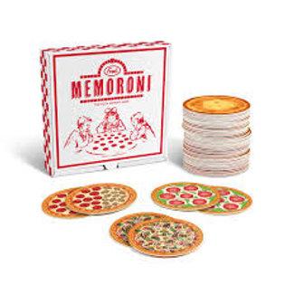 Jeu de mémoire - Pizzas «Memoroni»
