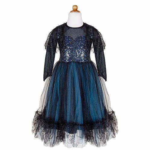 Robe et bandeau de sorcière de minuit Luna