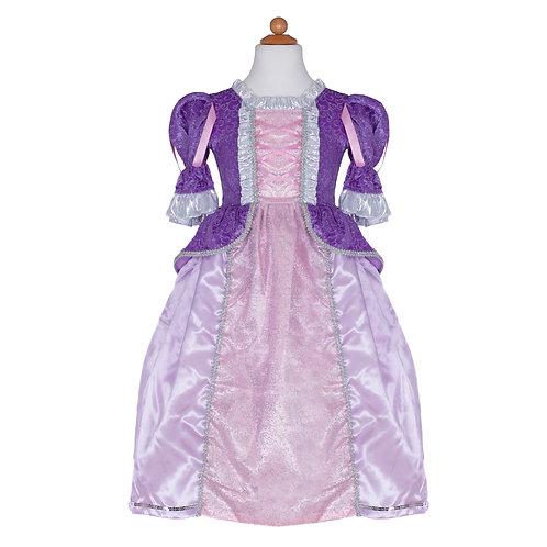 Robe de princesse lilas-violet