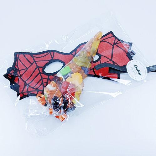 Sac à surprises d'Halloween - Masque de super-héro