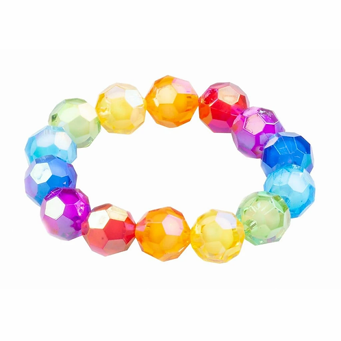 Bracelet bulles géantes scintillantes