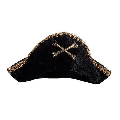 Chapeau de capitaine pirate