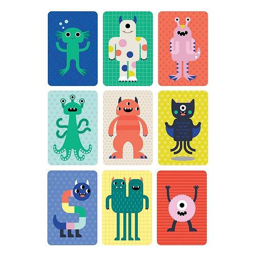 Jeu de cartes - Des monstres, encore des monstres