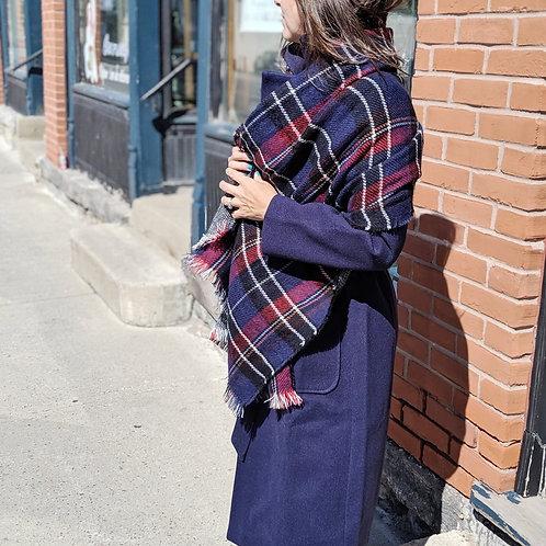 Écharpe style écossais