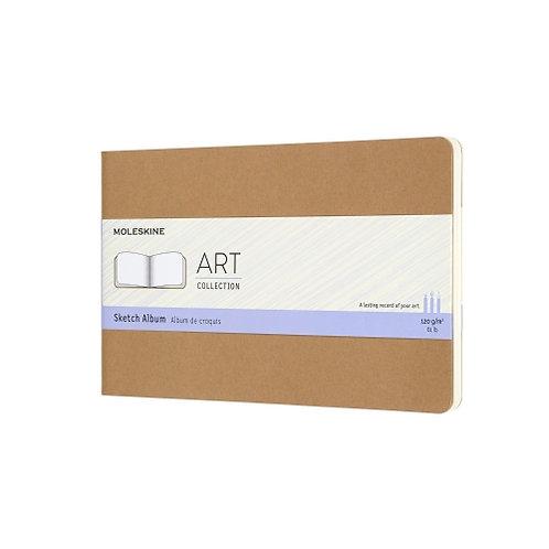 Carnet de croquis - Kraft rectangulaire