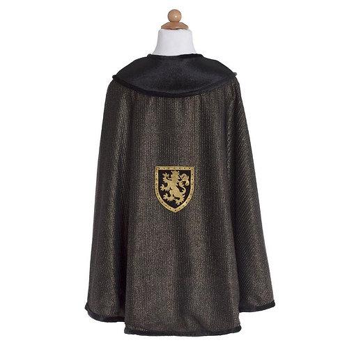 Cape de chevalier noir taille 4-7
