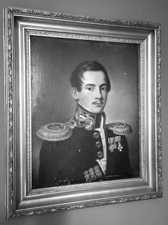 Kaptenska Maria Nordmannin setä, amiraali Boris Nordmann.