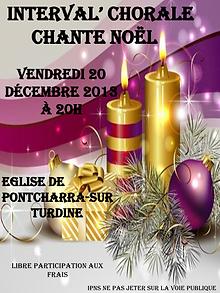 Affiche concert Noel-Poncharra-20-12- 20