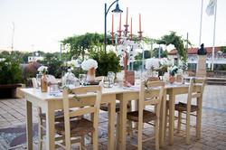 Church yard Wedding setting