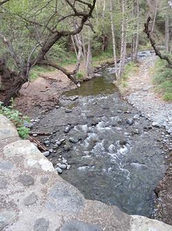 Diarizo river from Kelefos bridge