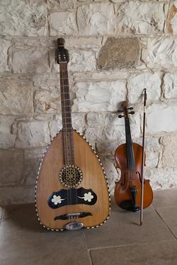 Violin and Laouto
