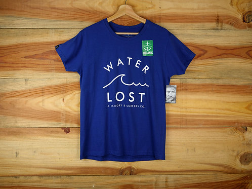 Water Wave front print tee