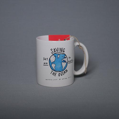 Saving The Ocean Ceramic mug