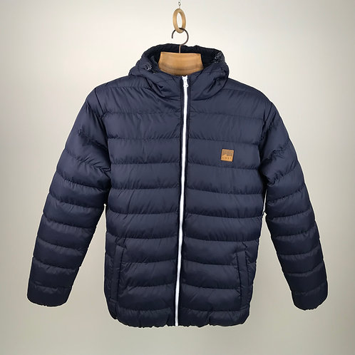 Square wave Puff Jacket
