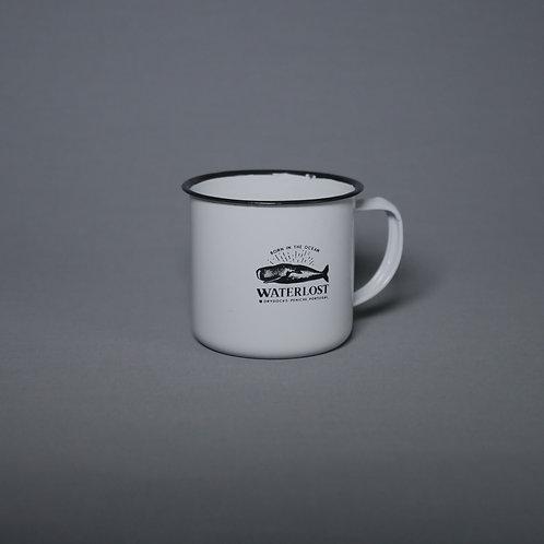 Mother Whale Metal Mug