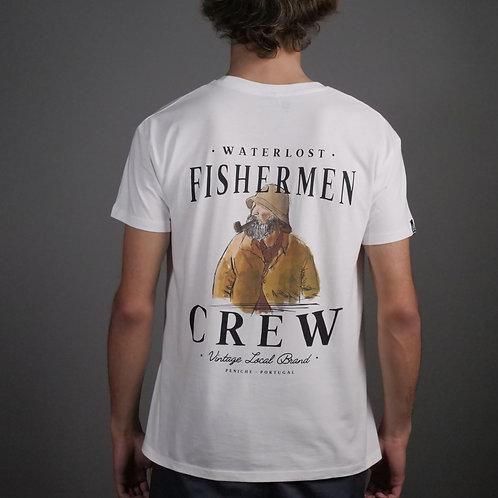 Fishermen Crew Old Dog x Akira Nico Tee