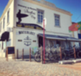 Waterlost Shop and Waterlost Surfschool in Peniche