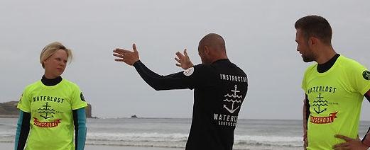 Private surf lessons in Peniche