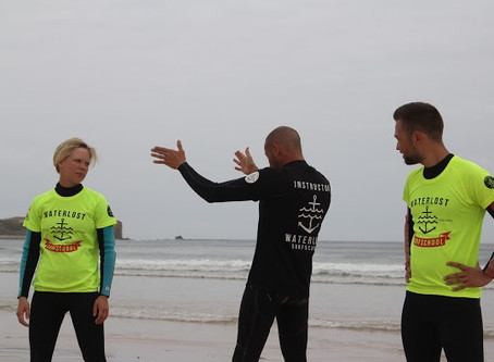 Surf better: listen to your body.
