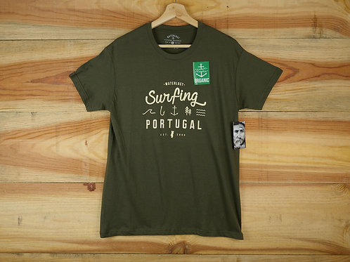 Surfing Portugal tee