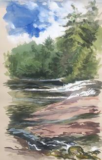 Bogg River Falls