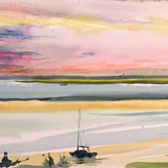 Rainbow Sunset on the Bay 2020
