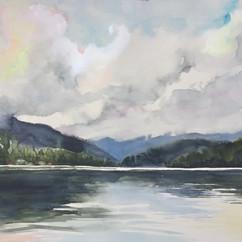 Lake Placid morning
