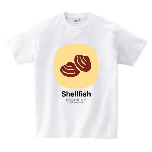 Tシャツ(貝 / Shellfish)