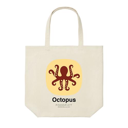 トートバック(たこ / Octopus)