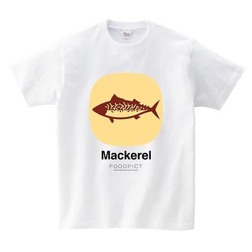 Tシャツ(さば / Mackerel)