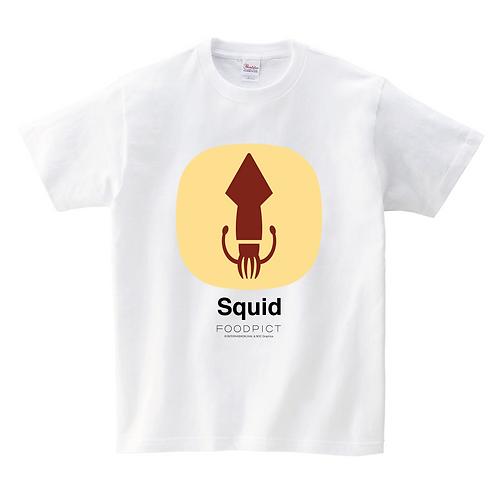 Tシャツ(イカ / Squid)