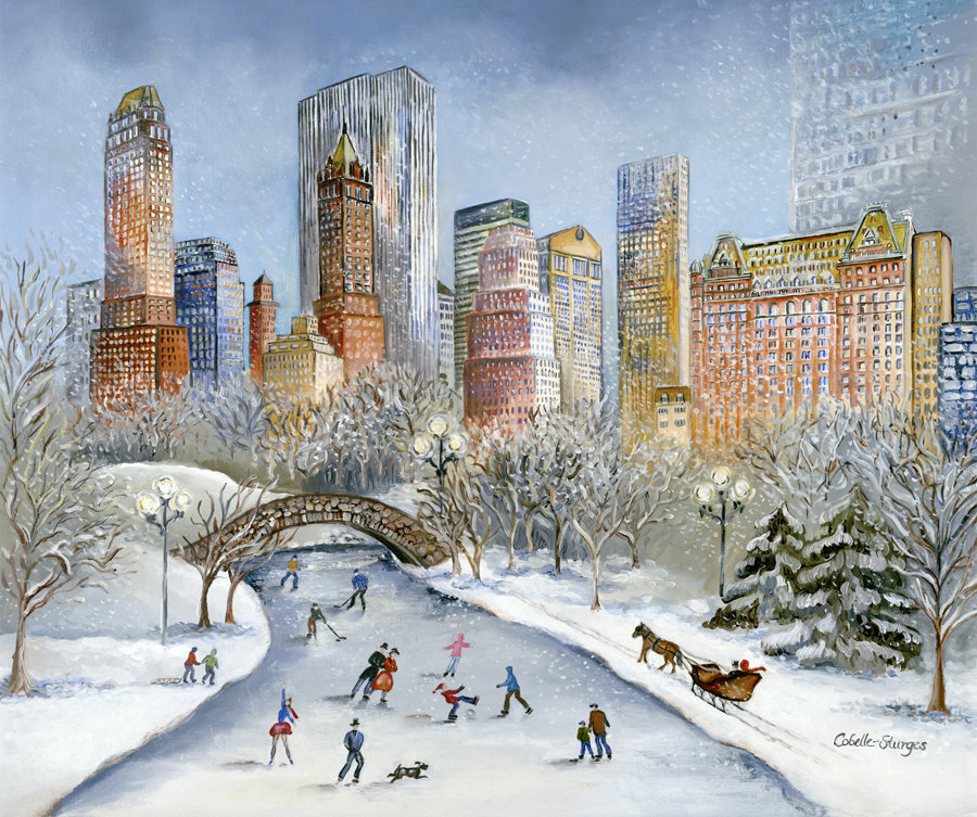 Winter Fun in Central Park