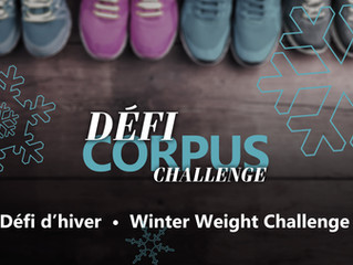 Défi d'hiver Corpus! Winter Weight Challenge