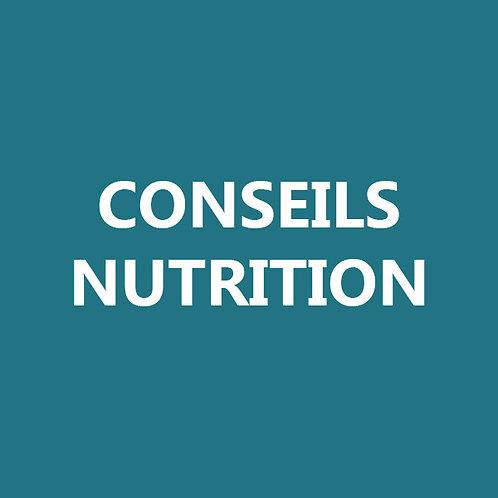 Nutrition avec Patrick Owen - 1 consultation
