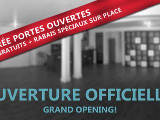 Ouverture officielle à Verdun! Soirée portes ouvertes