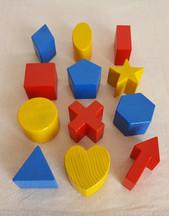 Formes géométriques à manipuler