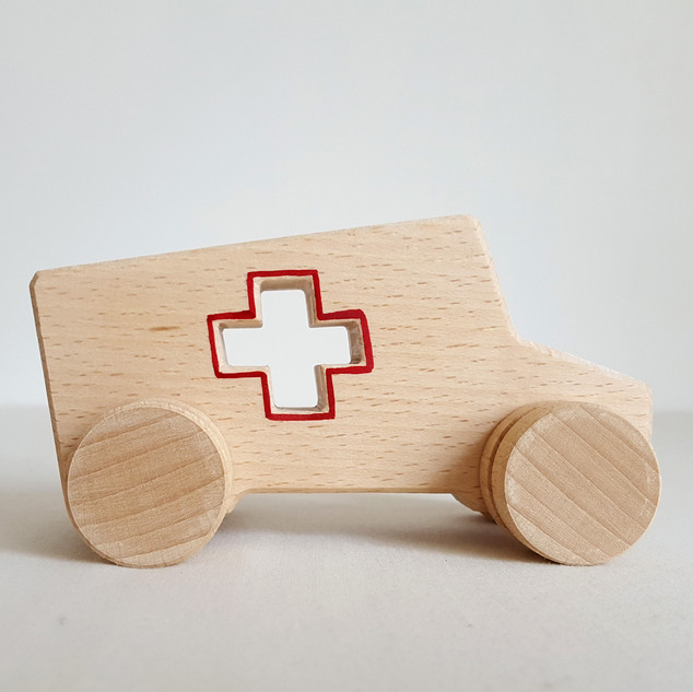 Ambulance 100 % bois