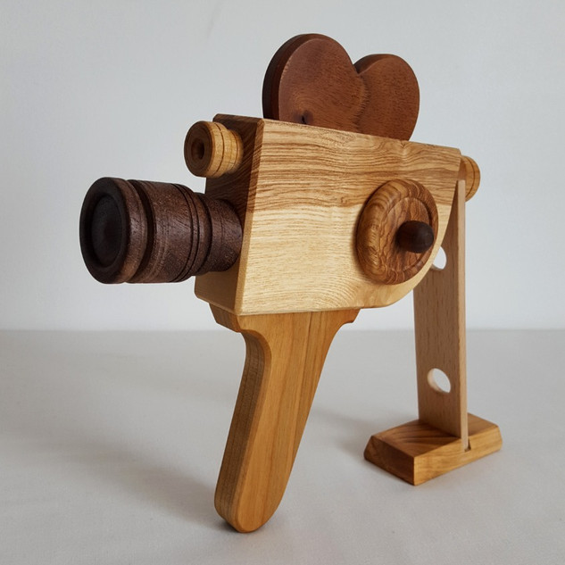 Caméra 100 % bois