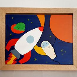 Tableau  Dans l'Espace
