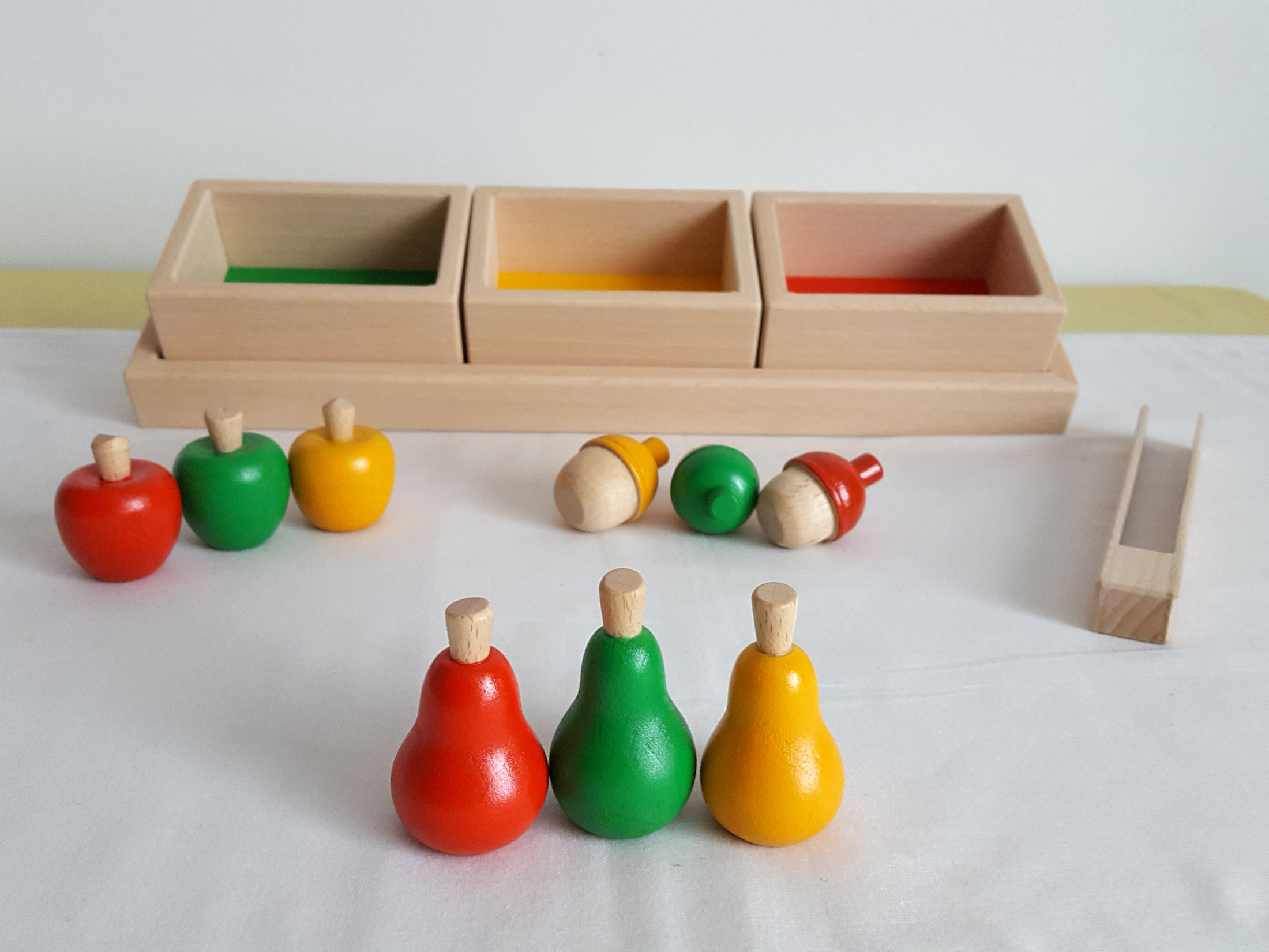 Jeu de tri, Pédagogie Montessori